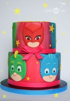 220 best pj masks cakes images in 2020 | pj mask, mask