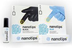 Nano tips - makes any type of glove tech friendly