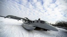 The Ekranoplan: A New Means of Transportation For Yakutia - English Russia Flying Ship, Flying Boat, Strange Cars, Amphibious Vehicle, Float Plane, Ground Effects, Aircraft Photos, Military Pictures, Aircraft Design