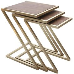Wood Nesting Tables 1