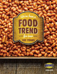 Bush's Beans Foodservice Ad // Designed by Marlin