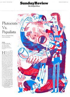 NY Times Sunday Review Cover - JooHee Yoon