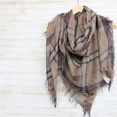 Added to our SALE SECTION! *Los Olivos Plaid Scarf* --> orig: $12.95 Now…