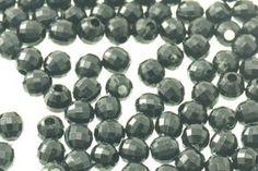 Koraliki Akrylowe Kryształki Szlifowane Lodowe Kula Black 4mm 200szt - Półfabrykaty do biżuterii \ Koraliki \ Akrylowe \ Szlifowane Decoupage \ Elementy do zdobienia \ Koraliki Akrylowe Hity Miesiąca Artykuły Pasmanteryjne \ Koraliki i Ćwieki \ Koraliki Kryształkowe - MarMon.com.pl
