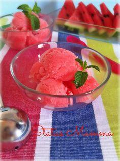 Sorbetto di Anguria senza gelatiera dessert fresco