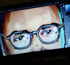 "161 aprecieri, 1 comentarii - ELIANA BOGDAN (@elianabogdan) pe Instagram: ""Daily mission 🎨 #illustration #digitalart #portrait"""