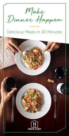 From hearty meat and seafood options to gluten-free and low-carb dishes, there's always a dinner option that's bound to work. Choose your menu and get fresh, pre-portioned ingredients delivered to your doorstep. Start a Home Chef subscription today.
