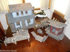 Custom OOAK Gi Joe Cobra Dreadnok Diorama Swamp House Diorama Amazing Quality   eBay