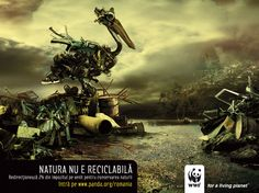 WWF has created an original and beautiful advertising campaigns. These posters raise the public awareness about alarming situation of the environement and animal life. We present to you 20 such most strking postermost original WWF billboards. World Wildlife Federation, Wwf Poster, Image Nature, Funny Ads, Social Awareness, Creative Advertising, Print Ads, Print Poster, Advertising Campaign