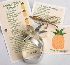 pineapple cookie cutter - Wanderlust Gifts