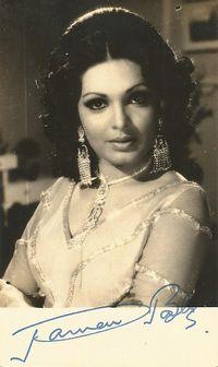 Parveen Babi.