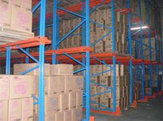 It is used mostly in retail,stockrooms,warehouses and very useful to increase the storage space.