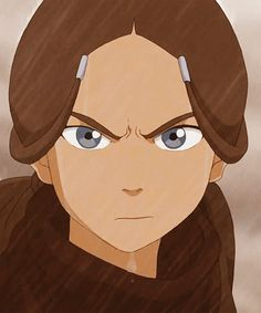 """She was protecting the last waterbender."" ""What? Who?"" ""Me!"" I love Katara! She was simultaneously strong and caring"