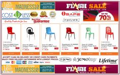 Avail the 10% Off Discount  on our Stylish Stacking Chairs at Lazada Shopping Online - March Madness Sale!! Use Voucher Code: MADNESS10 Free Delivery!! Credit Card Accepted & Cash On Delivery!! Check the items here: http://www.lazada.com.ph/all-products/?q=stacking+chairs+cost+u+less