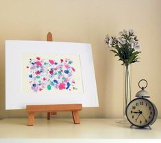 Butterfly - Original Abstract Ink Painting - NOT A PRINT