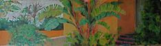 Acrilico /carton Painting, Gardens, Painting Art, Paintings, Painted Canvas, Drawings