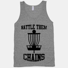 Rattle Them Chains #frisbee #disc #golf #basket #ace #sports #outdoor #college