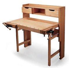 folding work bench from Garrett Wade. $765 (but oh they money I'd save by making things!)