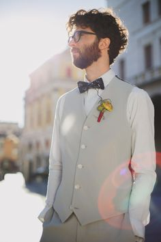 unconventional groom