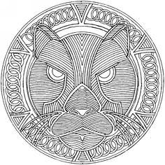 medieval coloring pages for adults | Mandalas | Mundos paralelos