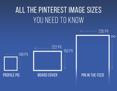 If you want to fine tune the look of your profile, here are all the Pinterest image sizes you need to know. | 21 Insanely Useful Tips Every Pinterest User Should Know