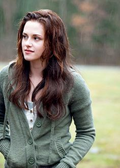 "Bella in a scene from ""New Moon""......."