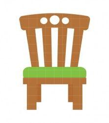 Papa Chair Clip Art