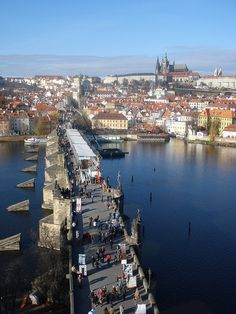 Charles Bridge   Prague by Venture Minimalists, via Flickr