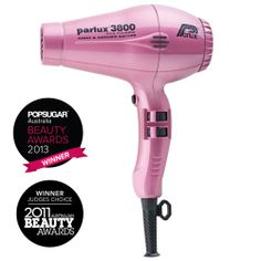 Parlux 3800 Ionic and Ceramic Hair Dryer. RRP $199.95