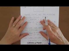 Como calcular puntos y aumentos en mangas rectas para dos agujas, ganchillo o crochet - YouTube