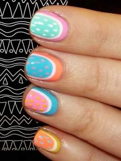 Stylish Nail Art Trends for summer