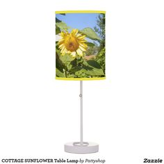 COTTAGE SUNFLOWER Table Lamp