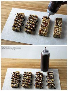 Homemade KIND Bars | Nut Delight & Dark Chocolate Sea Salt