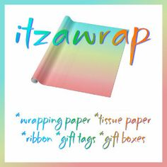 SUNDAY FLASH SALE!        Rate This  Sunday Flash Sale!  w/Code ZSUNSTEAL149  50% Off Wrapping Paper,  40% Off Tissue Paper,  40% Off Gift Tags,  15% Off Everything Else.  http://www.zazzle.com/itzawrap