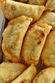 "Mission: Food: Venezuelan Black Bean and Cheese ""Domino"" Empanadas"