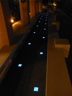 lighting corridor 100F