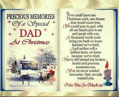 Precious Memories of Dad