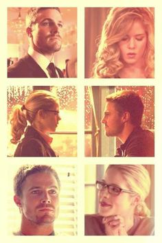 Arrow - Felicity & Oliver #Season1 #Olicity