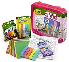 Art Kits For Kids, Crafts For Boys, Gifts For Girls, Arts And Crafts, Crayola Art, Crayola Toys, Crayola Products, Fantasias Halloween, Glitter Art