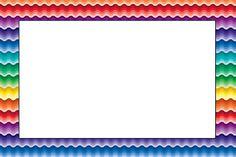 Arco Íris Cores Fortes - Kit Completo com molduras para convites, rótulos para guloseimas, lembrancinhas e imagens!