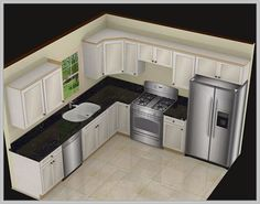 L Shaped Kitchen Layout With Island. This best photo selections about L Shaped Kitchen Layout With Island is available to save. We obtain this best image from Kitchen Island Designs With Seating, Kitchen Layouts With Island, Kitchen Island With Seating, Modern Kitchen Design, Interior Design Kitchen, Modern Design, Island Kitchen, L Shape Kitchen Layout, Modern Decor
