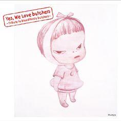 Yoshitomo Nara 2014 Yes, We Love butchers ~Tribute to bloodthirsty butchers~ Mumps [Nippon Crown CRCP-40358] #albomcover #奈良美智