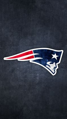 New England Patriots Logo Maxwells room Pinterest