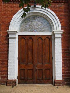 Warrenton Presbyterian Door Warrenton VA