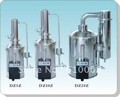 Water Distiller Electrically Heated For produce The Distilled Water, Automatical Electric-heating Water Distiller Water Quotes, Lab Supplies, Distilled Water, Office And School Supplies, Steel Water, Soap Dispenser, Clock, Electric, Educational Supplies