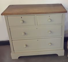 Edwardian 2 over 2 under Chest of drawers painted in Shagreen £195  (If you would like to buy this item call the sales office on 01903 753377 or visit our showroom www.thergf.co.uk) The RGF Restoration Team is the South East's leading furniture up-cycling company. Our skills include upholstery, restoration, and paint effect including shabby chic, farmhouse distress and French provincial.