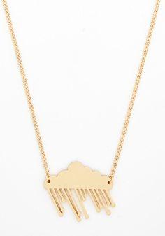 rainy-day necklace