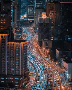 Busy and beautiful streets of Shanghai China ❤️ 😱 By ❤️ Night Aesthetic, City Aesthetic, City Lights At Night, Night City, Shanghai, Tokyo Night, City Wallpaper, Beautiful Streets, Street Photo