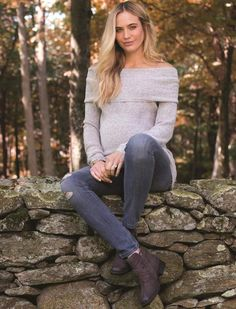 be16d869cc Motherhood Maternity Off The Shoulder Maternity Sweater
