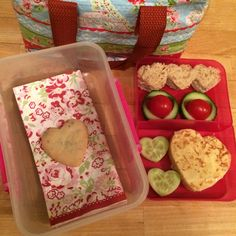 Valentine packed lunch!